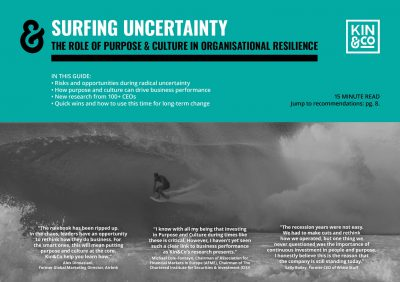 Kin&Co-Surfing-Uncertainty-The-role-of-purpose-culture-in-organisational-resilience-cover