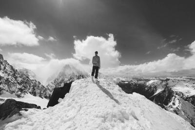 Man on Mountain 3